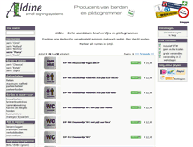 Tablet Preview of aldine.nl