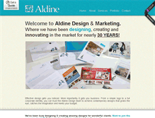 Tablet Preview of aldine.co.uk